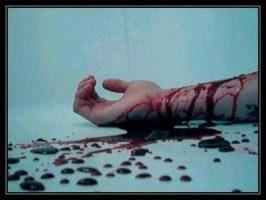 suicidio sangue