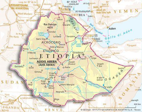 Etiopia muore un turista italiano miglioverde for Dove ha sede il parlamento italiano