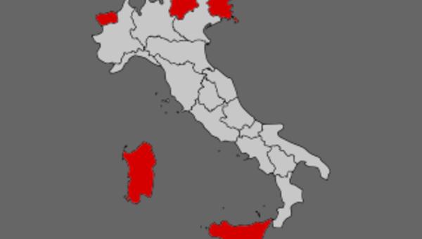Riforma costituzionale blindata l 39 autonomia delle regioni - Regioni italiane non bagnate dal mare ...